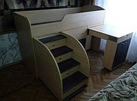 """Кровать чердак трансформер  """"Малыш"""" от 2,5 лет"""