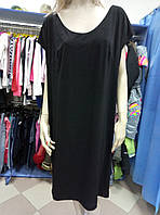 Платье черное женское 52-54 р.