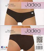 Женские трусики слип низкая посадка Jadea 785  nero