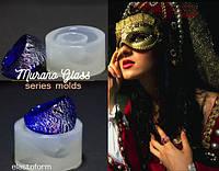 "Молд форма в венецианском стиле ""Murano glass"" Серия Стекло Мурано кольцо"