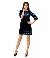 Вышитое платье М-1033-1 | Вишите плаття М-1033-1, фото 1