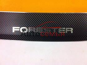 Накладка на бампер Subaru Forester