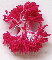 Тычинки для цветов насыщенно-розовые хрустальное покрытие