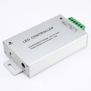Контроллер 12V RGB для светодиодной ленты 288Вт 24А-радио-24 кнопки, фото 2