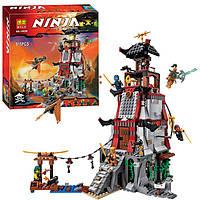 "10528  Конструктор Bela (аналог LEGO Ninjago 70594) ""Осада маяка""  815 д."