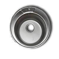 Врезная мойка для кухни Haiba 510 (сатин)
