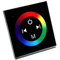 Контроллер RGB 144Вт 12A-Touch black встраиваемый