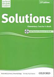 Книга учителя Solutions Elementary 2nd Edition Teacher's Book