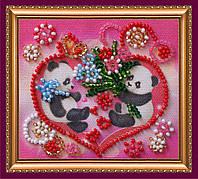 Набор-магнит для вышивки бисером «С Днем влюбленных-3»