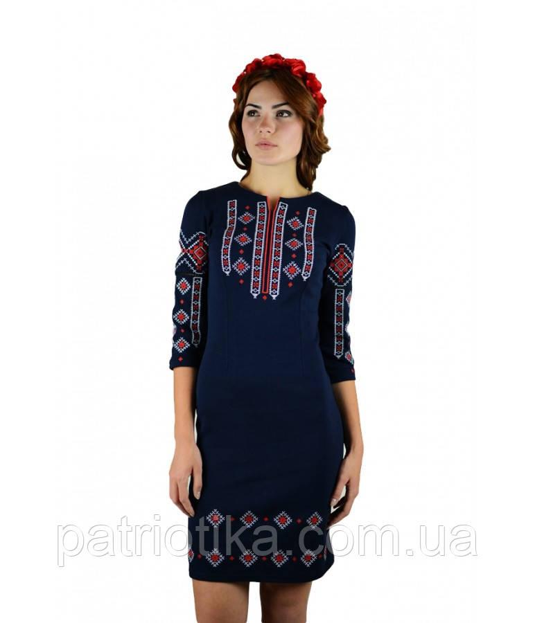 Вышитое платье М-1033-4 | Вишите плаття М-1033-4