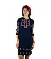 Вышитое платье М-1033-4 | Вишите плаття М-1033-4, фото 1