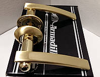 Ручка раздельная ARMADILLO Mercury LD22-SG/GP-4 мат. золото/золото