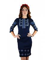 Вышитое платье М-1033-3   Вишите плаття М-1033-3, фото 1