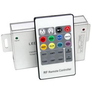 Контроллер 12V RGB для светодиодной ленты 180Вт 15А-инфракрасный-20 кнопок
