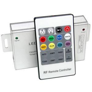 Контроллер 12V RGB для светодиодной ленты 180Вт 15А-инфракрасный-20 кнопок, фото 2