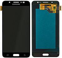 Дисплей (экран) для телефона Samsung Galaxy J5 (2016) J510H Duos + Touchscreen Original Black