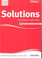 Книга учителя Solutions 2nd Edition Pre-Intermediate Teacher's Book