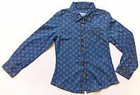 Модная стильная качественная рубашка для девочки Alive 116рост