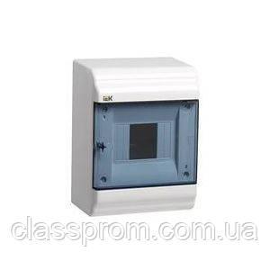 Корпус пластиковый ЩРН-П- 6 мод. 1ряд навесной 190x182x100 IP41 PRIME IEK