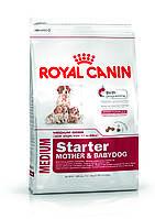 Royal Canin Medium Starter - корм для щенков средних пород до 2 месяцев, беременных и кормящих сук 12 кг