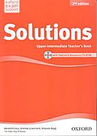 Книга учителя Solutions 2nd Edition Upper-Intermediate Teacher's Book