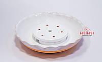 Подставка под чайник Чайный Пруд, глина с глазурью №1