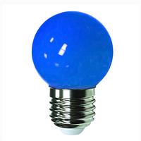 Лампа Lemanso св-ая G45 E27 1,2W cиний шар / LM705