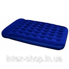 Двуспальный надувной матрас Bestway 67226 (203х152x22 см.) со встроенным насосом