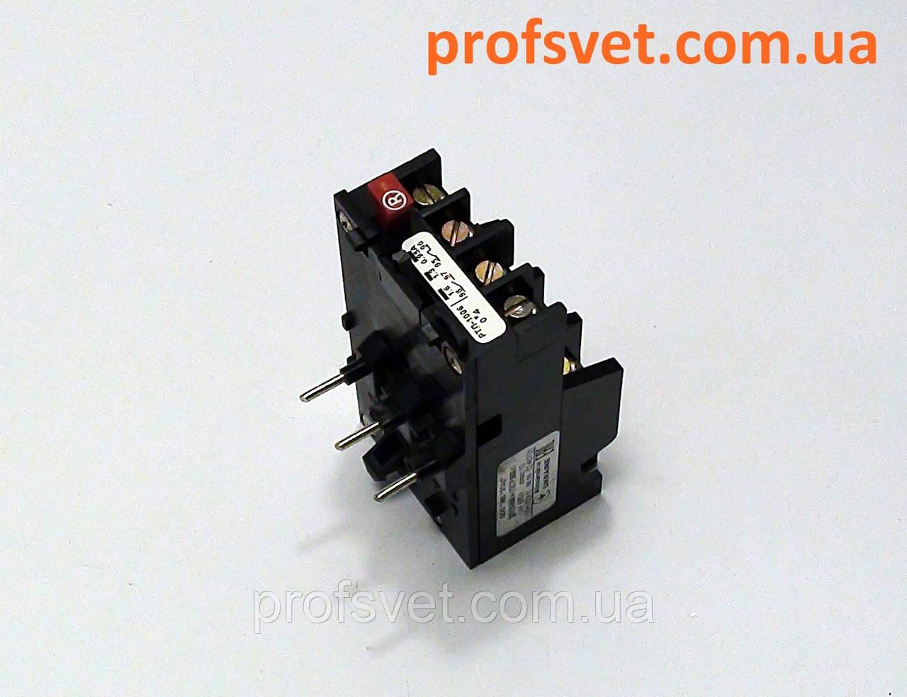 Реле тепловое РТЛ-1007 с регулировкой 1,5-2,6А