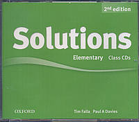 Набор дисков с аудио-материалами Solutions Elementary 2nd Edition: Class Audio CD(3)