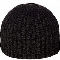 Мужская вязаная шапка   цвет коричневый