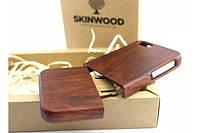 Эксклюзивный раскладной деревянный чехол Макорэ для iPhone 5/5S