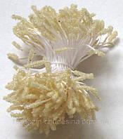 Тычинки для цветов ванильные хрустальное покрытие