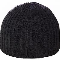 Мужская вязаная шапка   цвет светло серый