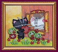 Набор-магнит для вышивки бисером «Подарок любимой»