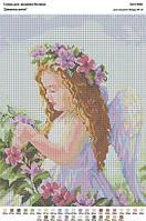 БА3-69Ф Девочка-ангел. Вишиванка. Схема на ткани для вышивания бисером