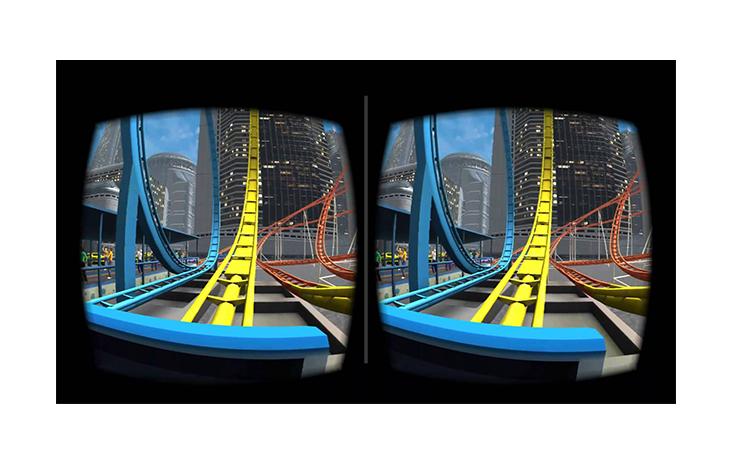 Новогодний подарок виртуальные очки 3D VR BOX с пультом  2