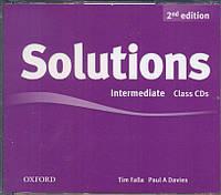 Набор дисков с аудио-материалами Solutions Intermediate 2nd Edition: Class Audio CD(3)
