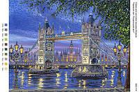 БА3-114 Лондонский мост. Вишиванка. Схема на ткани для вышивания бисером