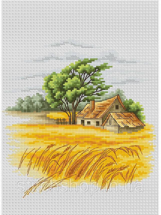 B2282 Пейзаж. Luca-S. Набор для вышивания нитками