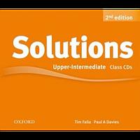 Набор дисков с аудио-материалами Solutions Upper-Intermediate 2nd Edition: Class Audio CD(3)