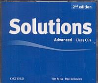 Набор дисков с аудио-материалами Solutions Advanced 2nd Edition: Class Audio CD(3)