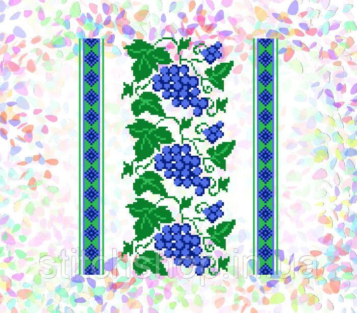 K-257 Виноград. Confetti. Водорастворимый флизелин с рисунком