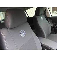 Чехлы модельные для Volkswagen Caddy 2010-  (7мест) Elegant Avangard №351