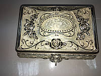 Шкатулка мельхиор для мелочей размер 10*15, фото 1