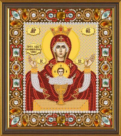 Д 6004 Богородица Неупиваемая чаша. Новая Слобода.. Наборы для вышивания бисером