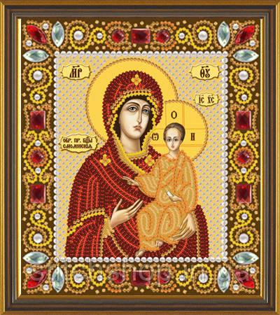 Д 6015 Пресвятая Богородица Смоленская. Новая Слобода.. Наборы для вышивания бисером