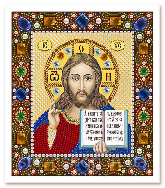 Д 6024 Христос Спаситель. Новая Слобода.. Наборы для вышивания бисером