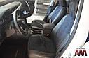 Авточехлы экокожа с двойной строчкой для Hyundai Matrix 2002- г., фото 6