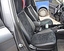 Авточехлы экокожа с двойной строчкой для Hyundai Matrix 2002- г., фото 7